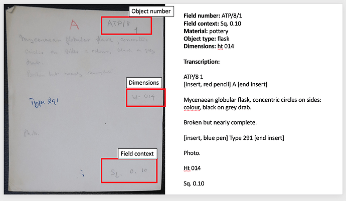 ATP:8:1 sample card and notes